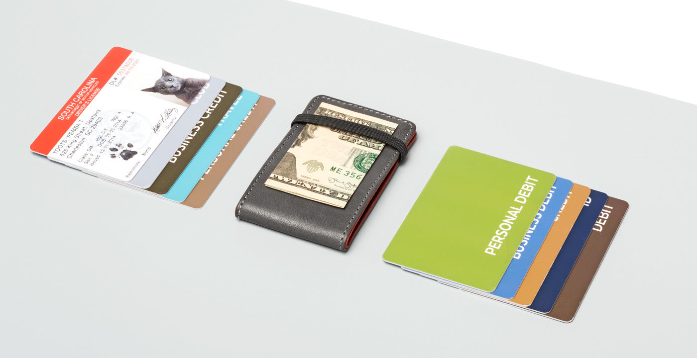 Front Pocket Reversible Wallet | Business Card Holder | Distil Union