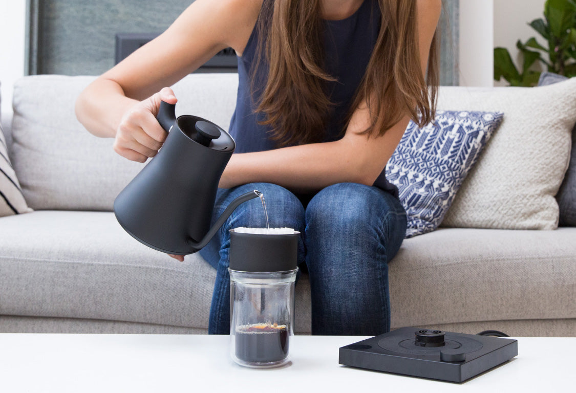 Fellow EKG electric kettle for pour-over coffee