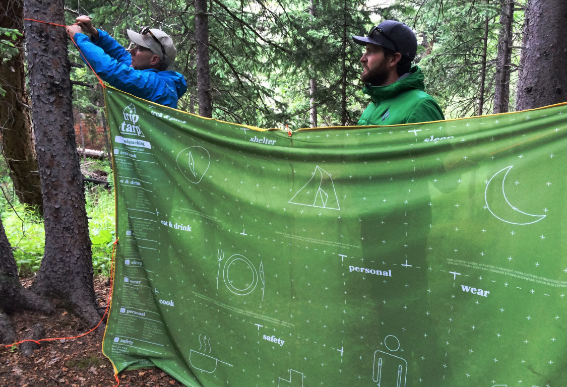 TripTarp for a safe and well-planned outdoors adventure