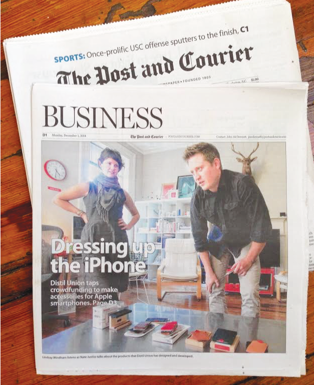 Distil Union featured in the Post & Courier