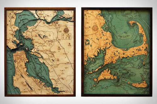 uncrate: Below The Boat Wood Charts - Distil Union