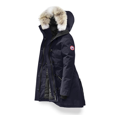 Canada Goose Ladies Rossclair Parka XS / Admiral Blue