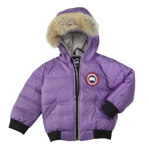 Canada Goose Baby Reese Bomber XS (6-12 months) / Hyacinth