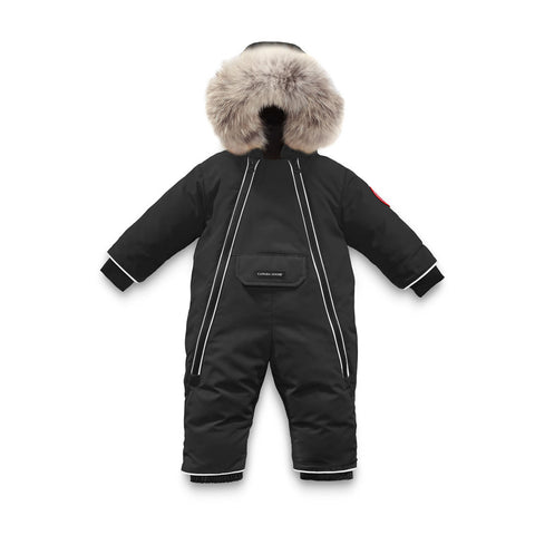 Baby Lamb Snowsuit Black