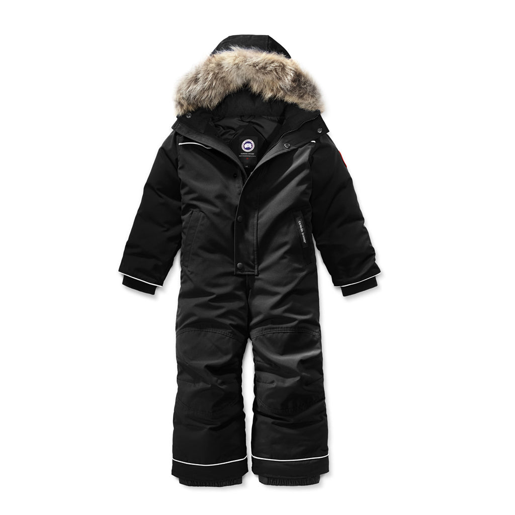 Canada Goose Kids Grizzly Snowsuit black