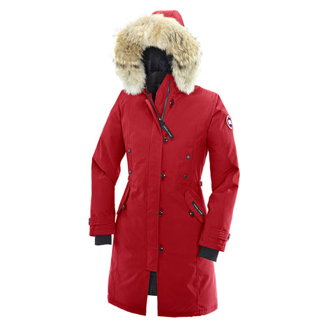 Canada Goose Ladies Kensington Parka S / Red