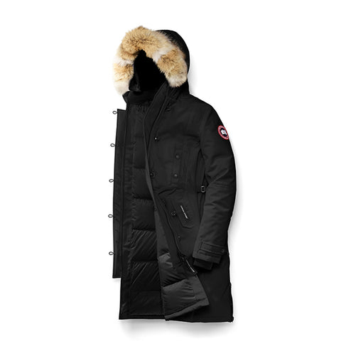 Women's Kensington Parka Black