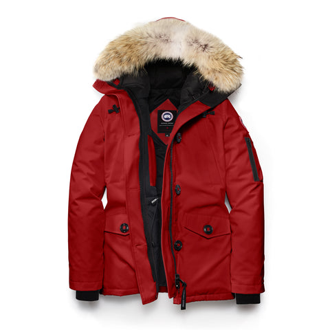 Canada Goose Ladies Montebello Parka 2XS / Redwood