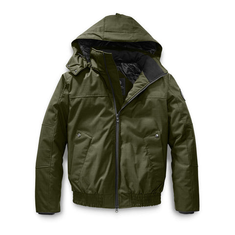 Canada Goose Men's Rossland Bomber L / Military Green