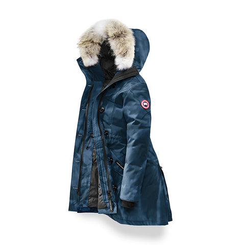 Canada Goose Women's Rossclair Parka S / Blue Abstract Camo