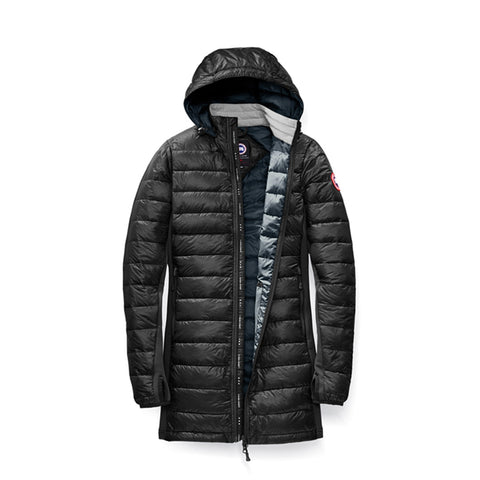 Womens Hybridge Lite Coat Black/Slate