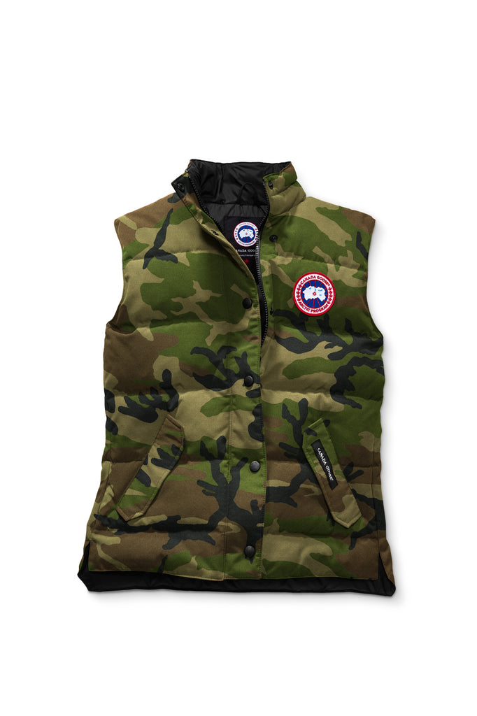 Canada Goose Womens Freestyle Vest northstar-white