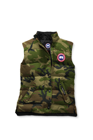Canada Goose Womens Freestyle Vest XS / Classic Camo