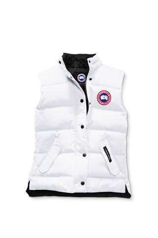 Canada Goose Womens Freestyle Vest XS / Northstar White