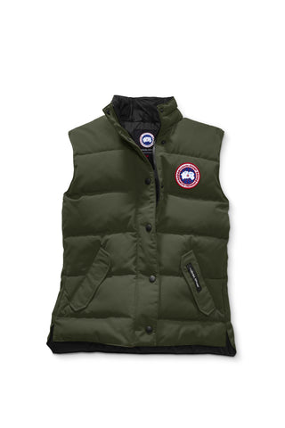 Canada Goose Womens Freestyle Vest S / Military Green