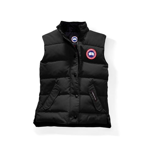 Womens Freestyle Vest Black