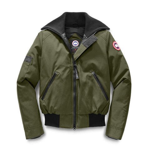 Canada Goose Ladies Huron Bomber M / Military green