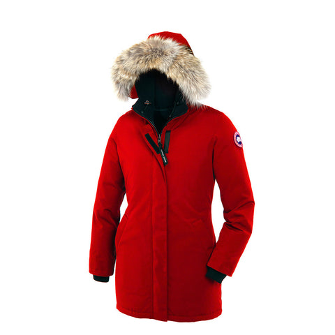 Canada Goose Ladies Victoria Parka S / Red