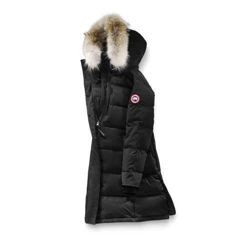 Womens Rowley Parka Black