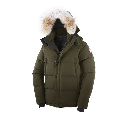 Canada Goose Men's Wyndham Parka S / Military Green