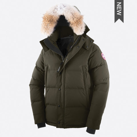 Canada Goose Men's Wyndham Parka M / Military Green