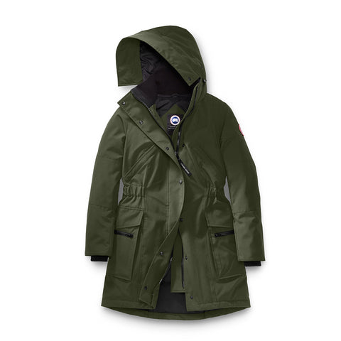 Canada Goose Ladies Kinley Parka S / Military Green