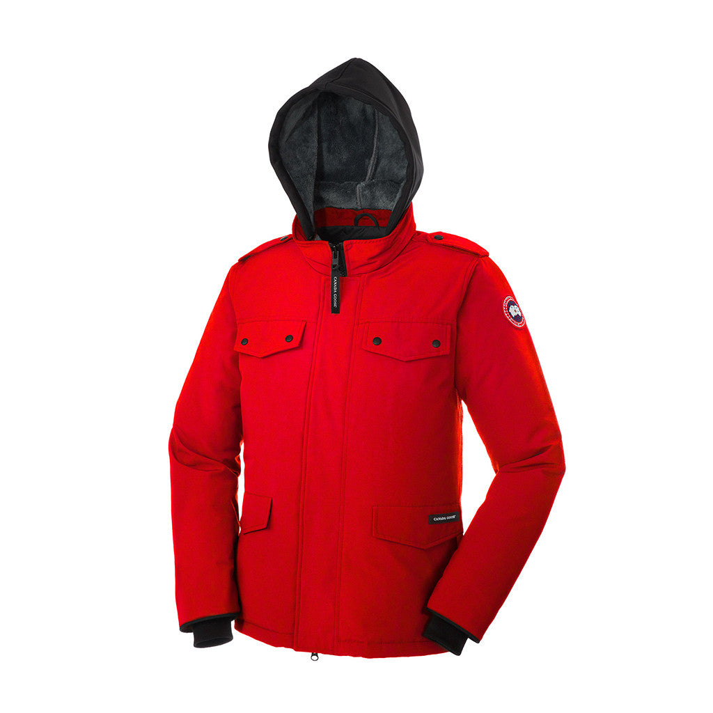 Canada Goose Men's Burnett Parka red