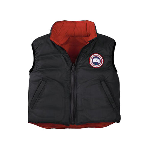 Canada Goose Baby Reversible Vest XS (3-6 months) / Black / Red