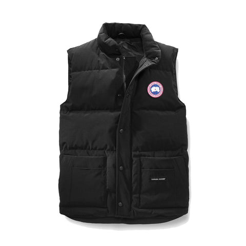 Men's Freestyle Crew Vest Black