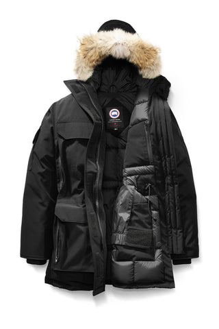 Womens Expedition Parka Black