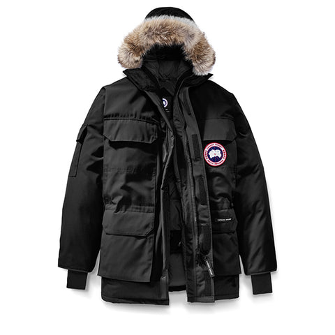 Men's Expedition Parka Black