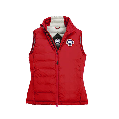 Canada Goose Ladies Camp Down Vest M / Red