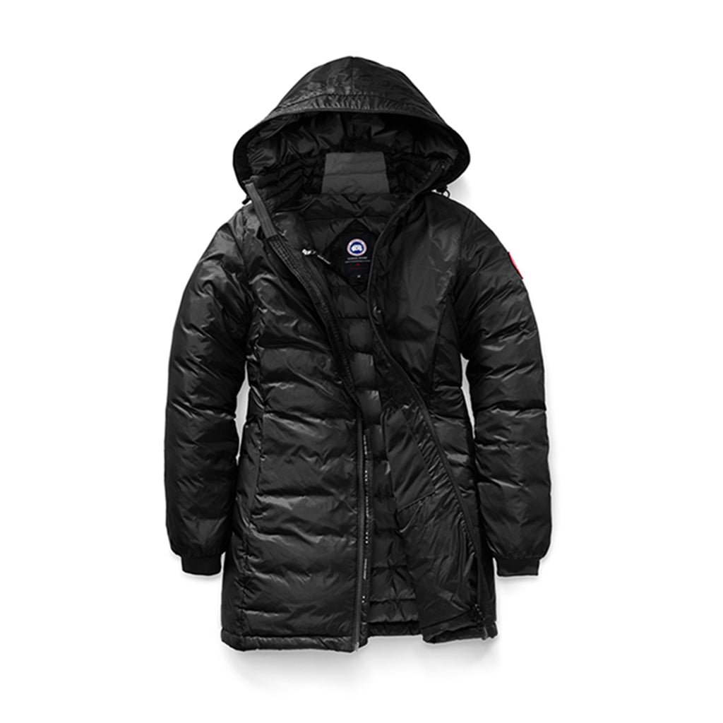 Canada Goose Women's Camp Hooded Jacket black-black