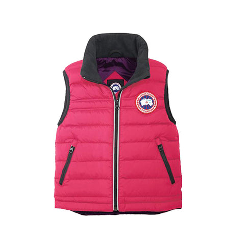 Kid's Bobcat Vest Summit Pink