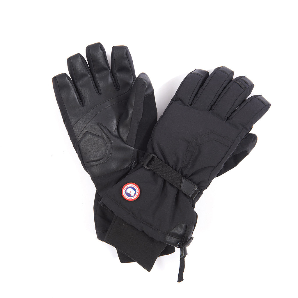 Canada Goose Men's Down Glove black
