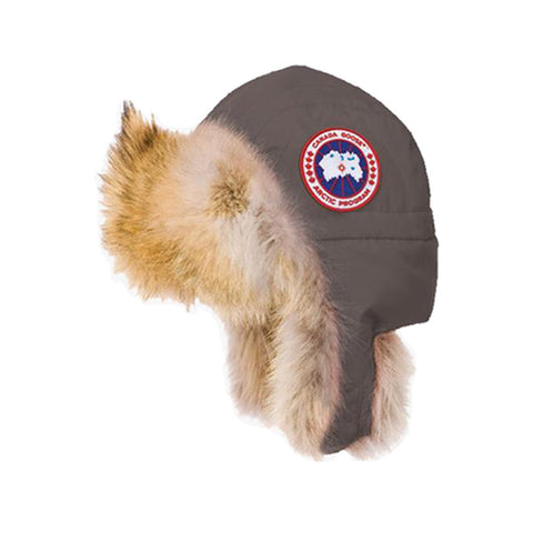 Kids Aviator Hat Mid Grey