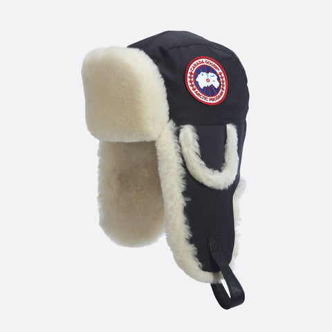 Canada Goose Men's Artic Tech Shearling Pilot Hat