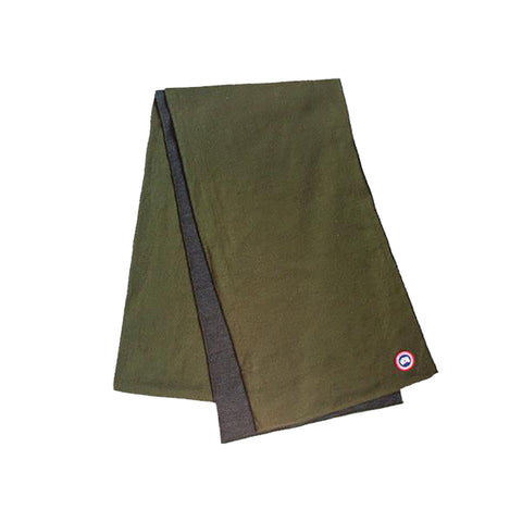 Lightweight Merino Scarf Military Green
