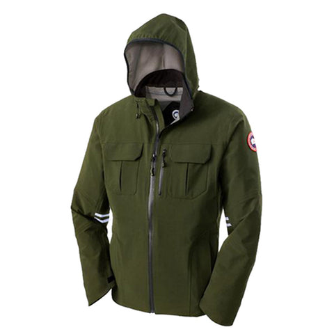 Men's Moraine Shell Jacket Military Green
