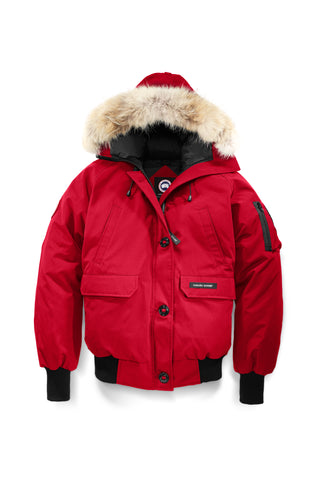 Canada Goose Women's Chilliwack Bomber L / Red