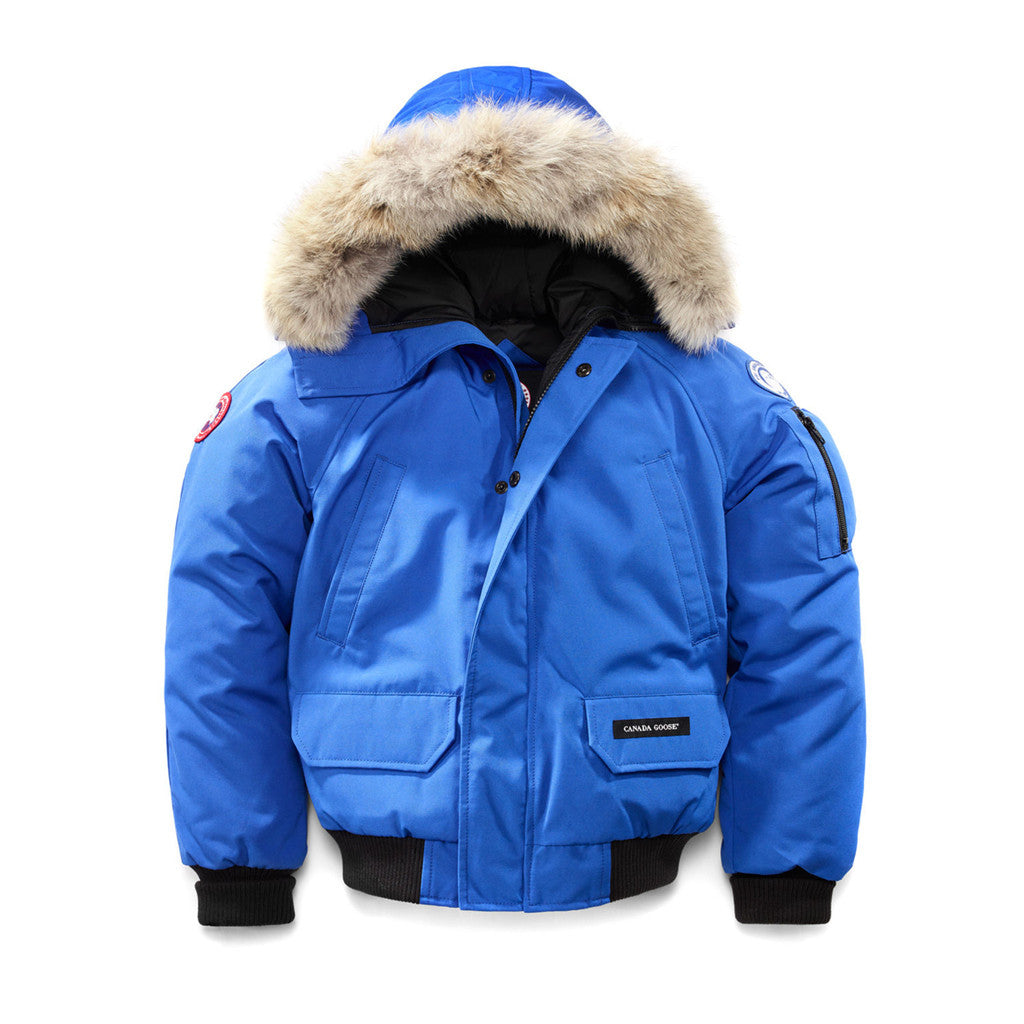 Canada Goose Youth PBI Chilliwack Bomber pbi-blue