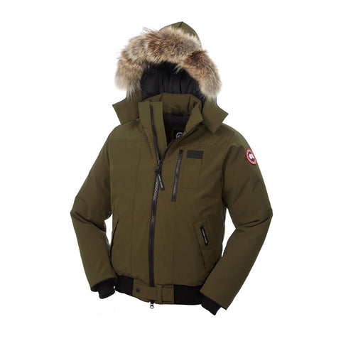 Canada Goose Men's Borden Bomber L / Military Green