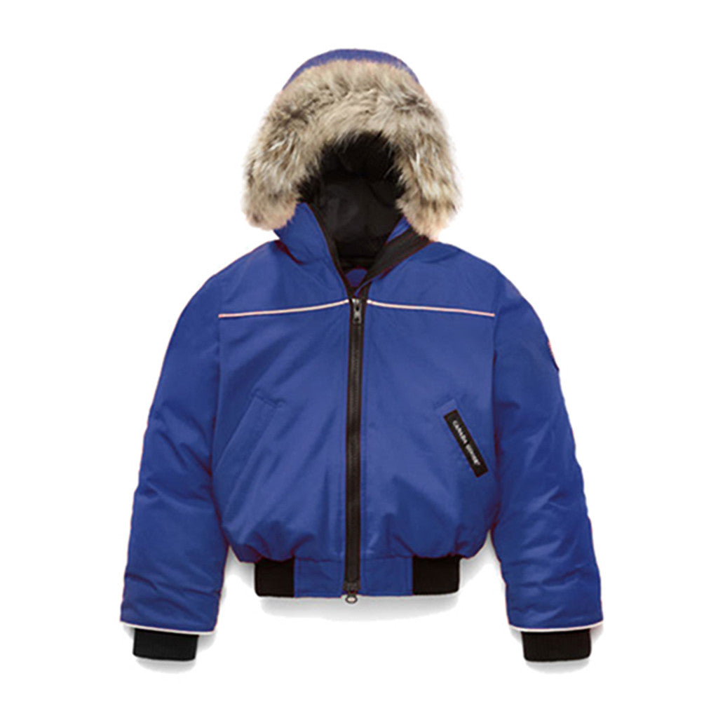Canada Goose Kid's Grizzly Bomber pacific-blue