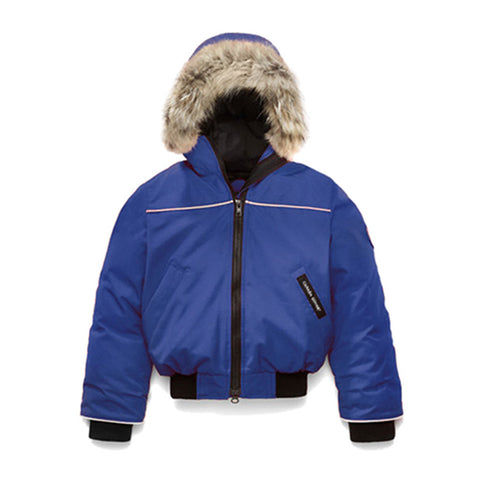 Kid's Grizzly Bomber Pacific Blue