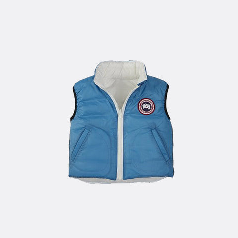 Canada Goose Baby Reversible Vest S (6-12 months) / Blue Topaz