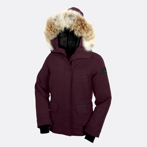 Canada Goose Ladies Aosta Bomber M / Berry Heather