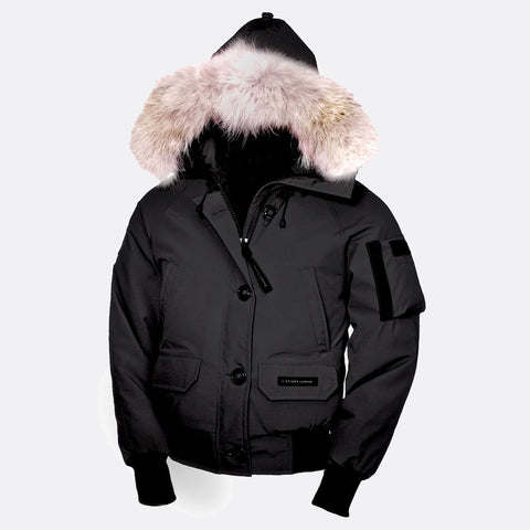 Canada Goose Ladies Chilliwack Bomber L / Black