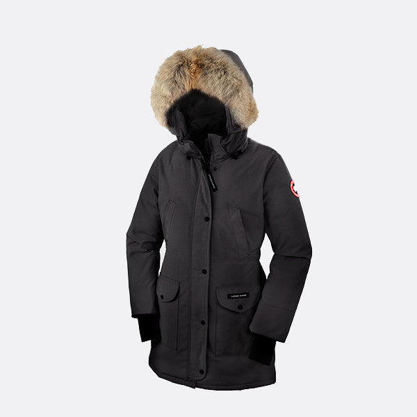 canada goose ladies trillium parka jackets womens black