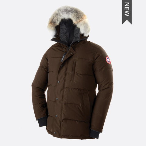 Canadian Icons Men's Carson Parka L / Grizzly