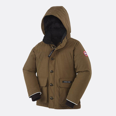 Canada Goose Boys Vernon Parka M (10-12 yrs) / Military Green